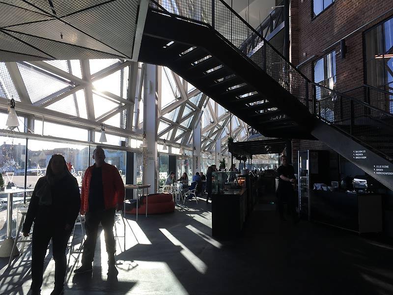 Kulturværftet med café i Helsingør
