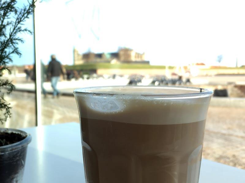 Kaffe på Kulturværftet i Helsingør