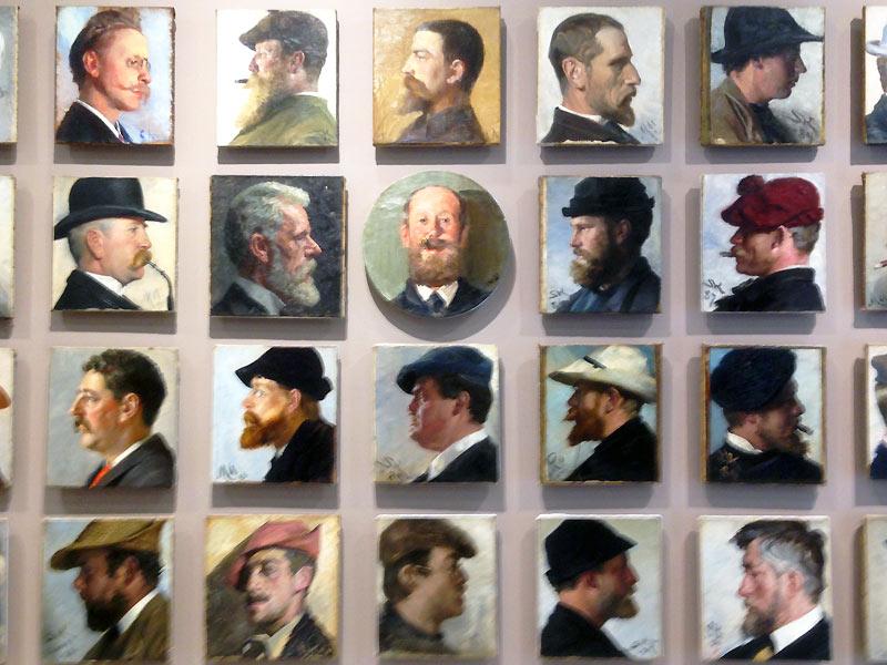 Portrætter på Skagens Museum