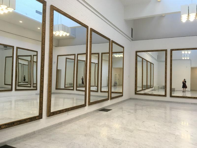 Spejlkunst og mig på Kunsten i Aalborg