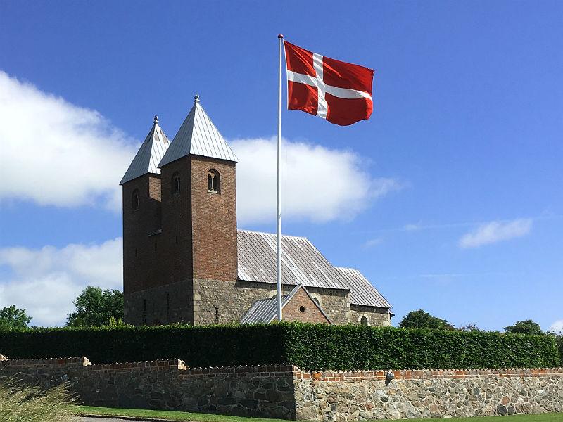 Fjenneslev Kirke på Sjælland