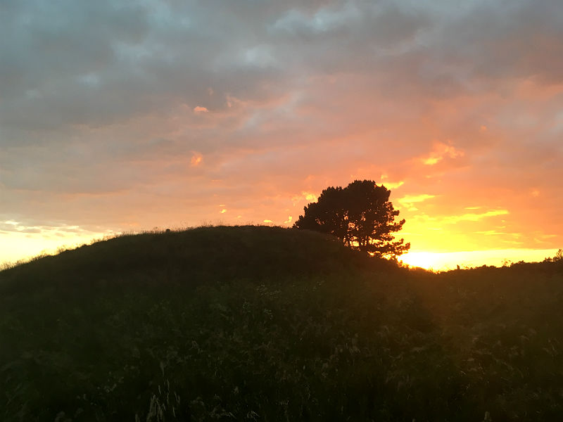 Haghbards Høj på Sjælland