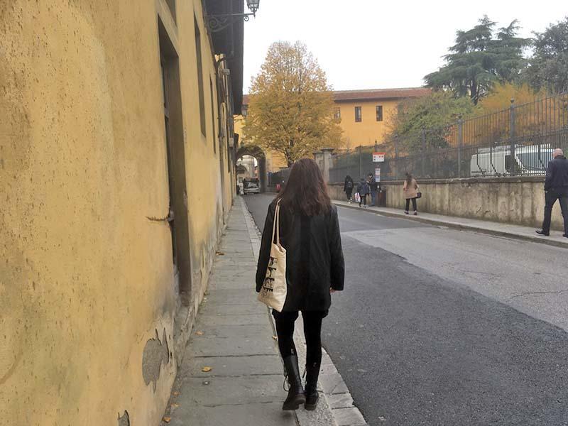 Det er fedt at gå rundt i Firenze