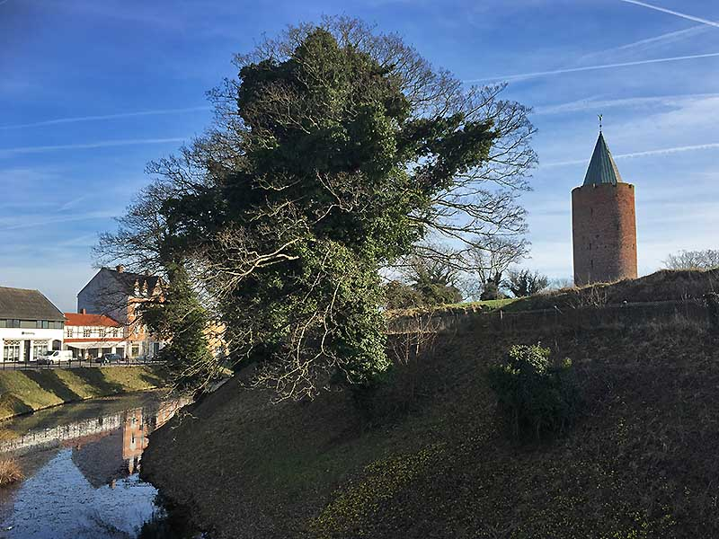 Gåsetårnet og Vordingborg by