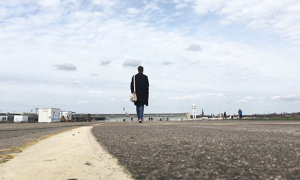 Tempelhof parkområdet i Berlin