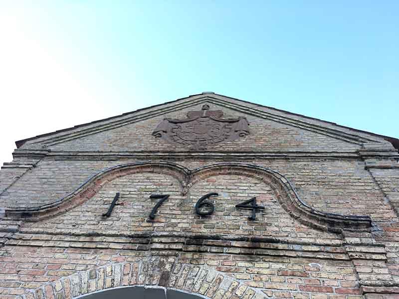 1764 står der på Augustenborg Slot