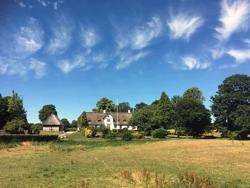 Herman Bangs fødegård i Asserballe på Als