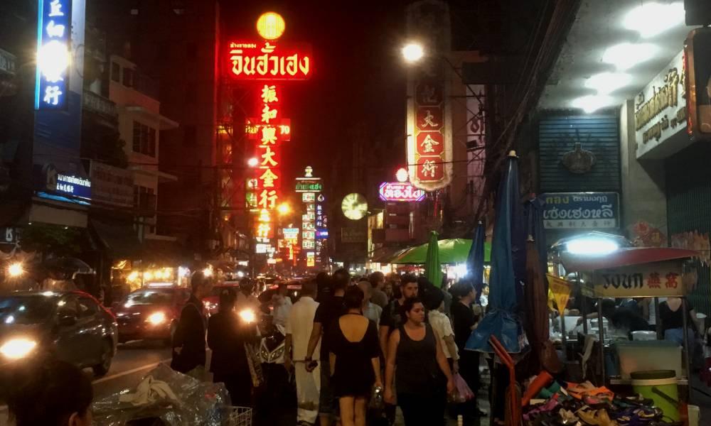 Chinatown i Bangkok