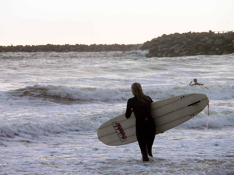 Du kan surfe ved Vesterhavet på din ferie i Danmark