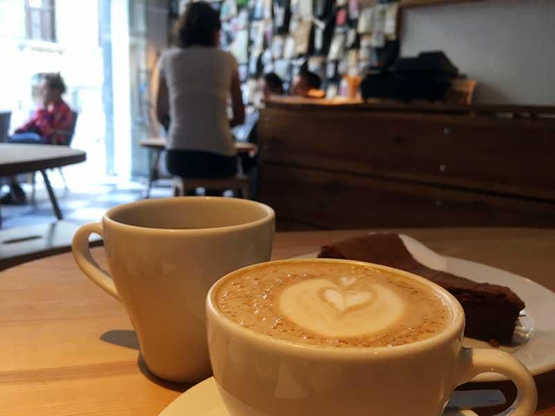 Stragan Kawiarnia er en af de virkelig gode kaffebarer i Poznan