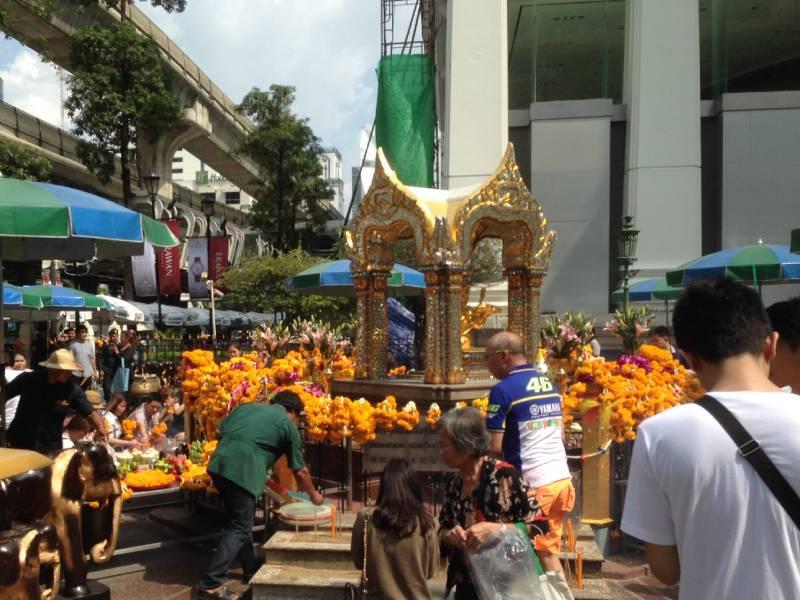 Erawan Shrine i Bangkok