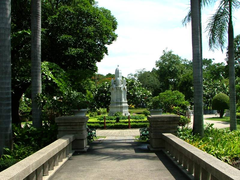 Lumpini Park er et åndehul i Bangkok
