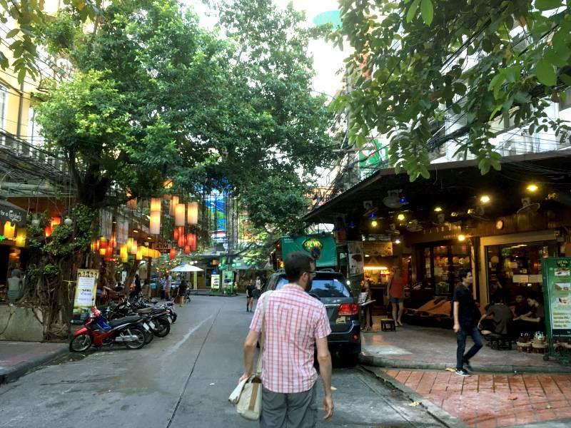 Soi Rammbuttri nær Khao San Road