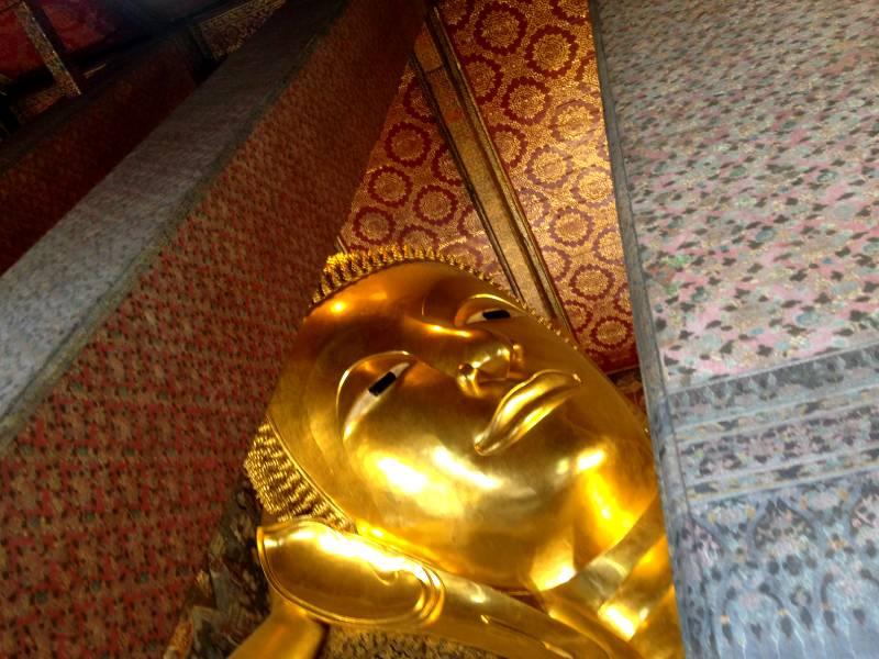 Den Liggende Buddha i Wat Pho