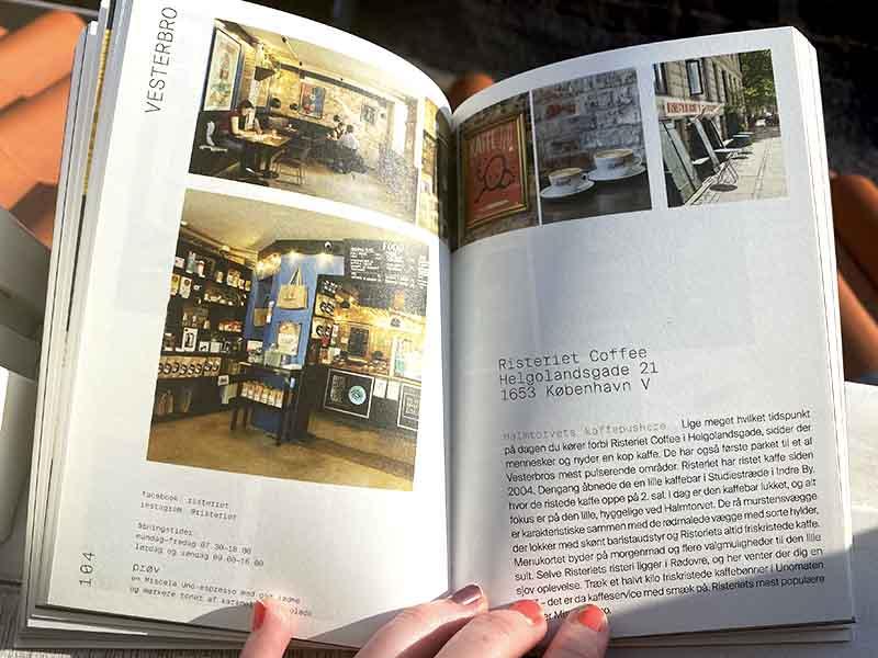 Bogen KaffeKøbenhavn af Anja Olsen om kaffebarer i København